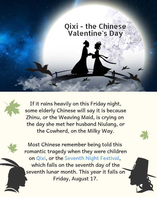 Culture Insider: Qixi - the Chinese Valentine's Day